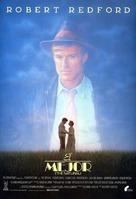 The Natural - Spanish Movie Poster (xs thumbnail)