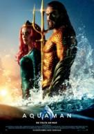 Aquaman - Portuguese Movie Poster (xs thumbnail)