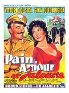 Pane, amore e gelosia - Belgian Movie Poster (xs thumbnail)