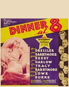 Dinner at Eight - Theatrical poster (xs thumbnail)
