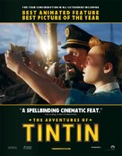 The Adventures of Tintin: The Secret of the Unicorn - For your consideration movie poster (xs thumbnail)