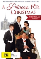 A Princess for Christmas - Australian DVD cover (xs thumbnail)