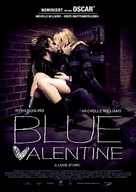 Blue Valentine - German Movie Poster (xs thumbnail)