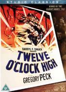 Twelve O'Clock High - British DVD cover (xs thumbnail)