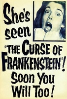 The Curse of Frankenstein - Advance movie poster (xs thumbnail)