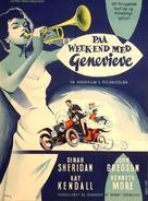 Genevieve - Danish Movie Poster (xs thumbnail)