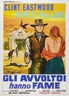Two Mules for Sister Sara - Italian Movie Poster (xs thumbnail)
