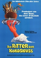 Monty Python and the Holy Grail - German Movie Poster (xs thumbnail)