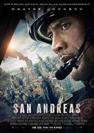 San Andreas - German Movie Poster (xs thumbnail)