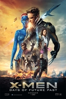 X-Men: Days of Future Past - Danish Movie Poster (xs thumbnail)