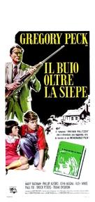 To Kill a Mockingbird - Italian Movie Poster (xs thumbnail)