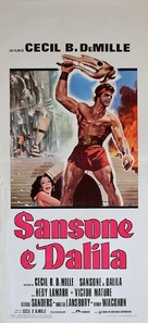 Samson and Delilah - Italian Movie Poster (xs thumbnail)