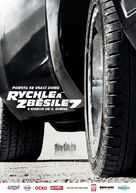 Furious 7 - Czech Movie Poster (xs thumbnail)