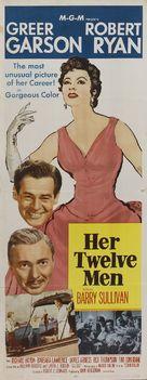 Her Twelve Men - Movie Poster (xs thumbnail)