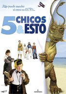 Five Children and It - Spanish DVD cover (xs thumbnail)