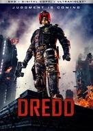 Dredd - DVD cover (xs thumbnail)