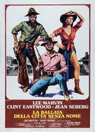 Paint Your Wagon - Italian Movie Poster (xs thumbnail)