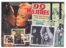 99 mujeres - Mexican Movie Poster (xs thumbnail)