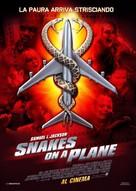 Snakes On A Plane - Italian Movie Poster (xs thumbnail)