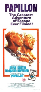 Papillon - Australian Movie Poster (xs thumbnail)