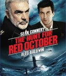 The Hunt for Red October - Blu-Ray movie cover (xs thumbnail)