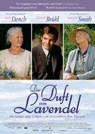 Ladies in Lavender - German Movie Poster (xs thumbnail)
