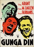 Gunga Din - Dutch Movie Poster (xs thumbnail)