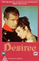 Desirée - Australian VHS movie cover (xs thumbnail)