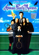 Addams Family Reunion - Brazilian DVD cover (xs thumbnail)