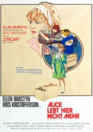 Alice Doesn't Live Here Anymore - German Movie Poster (xs thumbnail)