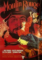Moulin Rouge - German Movie Poster (xs thumbnail)