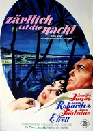 Tender Is the Night - German Movie Poster (xs thumbnail)