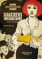 La femme du boulanger - Danish Movie Poster (xs thumbnail)