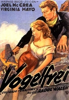 Colorado Territory - German Movie Poster (xs thumbnail)