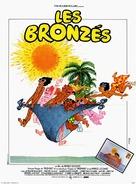 Les bronzés - French Movie Poster (xs thumbnail)