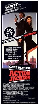 Action Jackson - German Movie Poster (xs thumbnail)