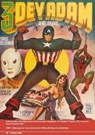 3 dev adam - Turkish Movie Poster (xs thumbnail)