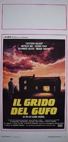 Cri du hibou, Le - Italian Movie Poster (xs thumbnail)