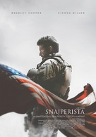 American Sniper - Serbian Movie Poster (xs thumbnail)