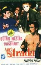 La strada - Spanish Movie Poster (xs thumbnail)
