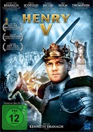 Henry V - German DVD cover (xs thumbnail)