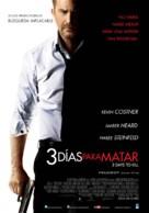 Three Days to Kill - Argentinian Movie Poster (xs thumbnail)
