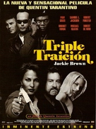 Jackie Brown - Argentinian Advance movie poster (xs thumbnail)