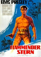 Flaming Star - German Movie Poster (xs thumbnail)