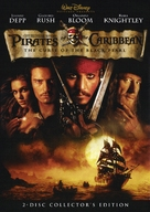 Pirates of the Caribbean: The Curse of the Black Pearl - DVD movie cover (xs thumbnail)