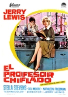 The Nutty Professor - Spanish Movie Poster (xs thumbnail)