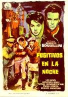 Era notte a Roma - Spanish Movie Poster (xs thumbnail)
