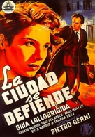 Città si difende, La - Spanish Movie Poster (xs thumbnail)