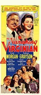 The Vanishing Virginian - Australian Movie Poster (xs thumbnail)