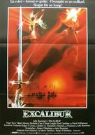 Excalibur - Swedish Movie Poster (xs thumbnail)